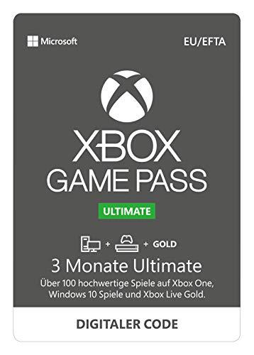 Xbox Game Pass 3 Monate Ultimate + 1 Monat GRATIS | Xbox One/Windows 10 PC - Download Code