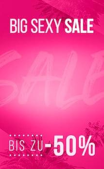 Hunkemöller: Big Sexy Sale: Bis zu 50% Rabatt auf alle Sale Artikel