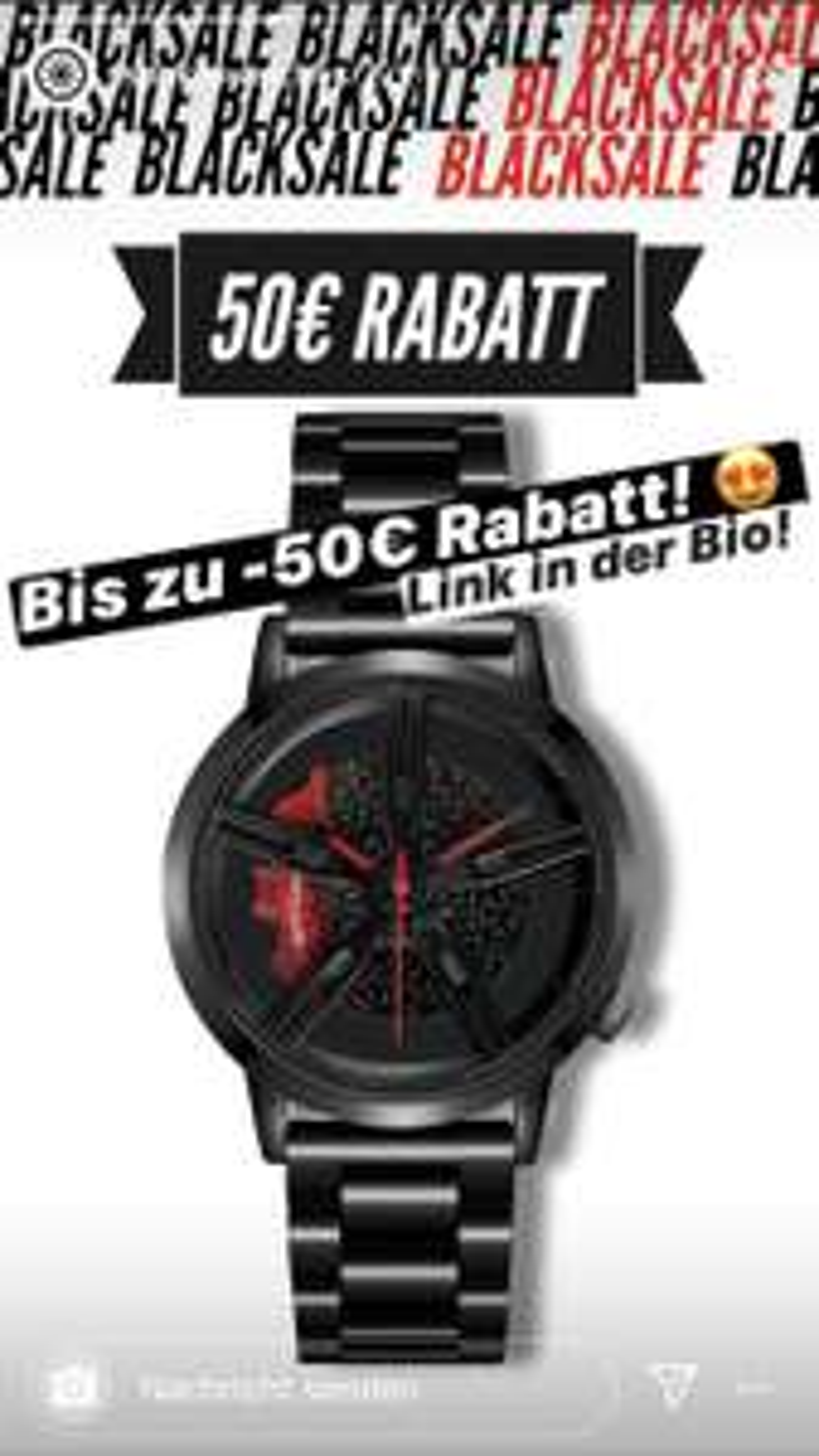 50€ Rabatt bei Spokes Watches