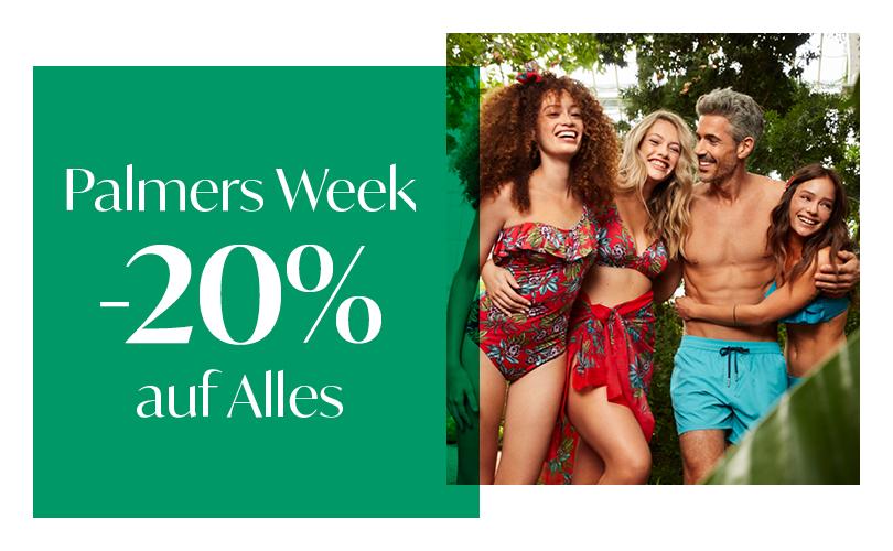 Palmers Week: -20% auf alles