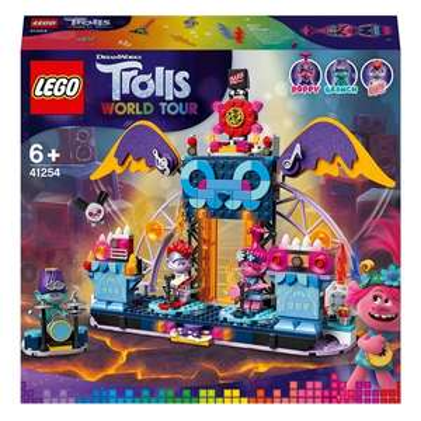 LEGO Trolls World Tour 41254 Volcano Rock City Konzert