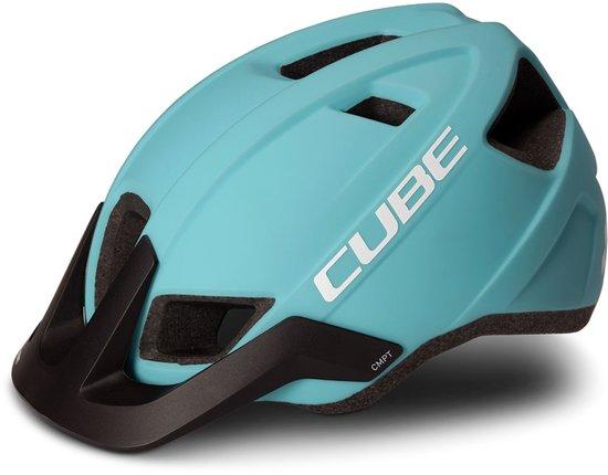 "Cube ""CMPT"" Mountainbike Helm (eisblau)"