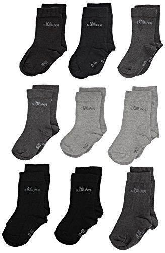 s.Oliver Socks Jungen Socken 9er Pack 23 - 26 (8,25€), 27 -30 & 39- 42 (9,10€)