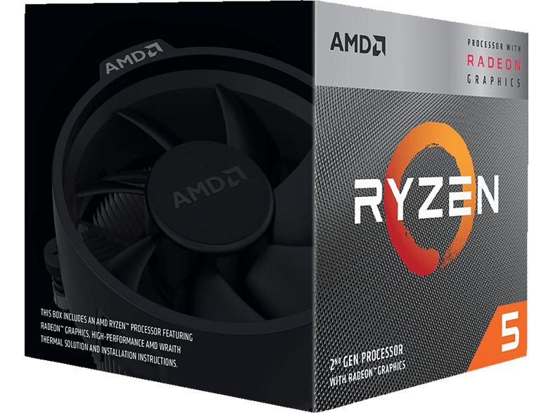 AMD Ryzen 5 3600 (6x 3.6 GHz)