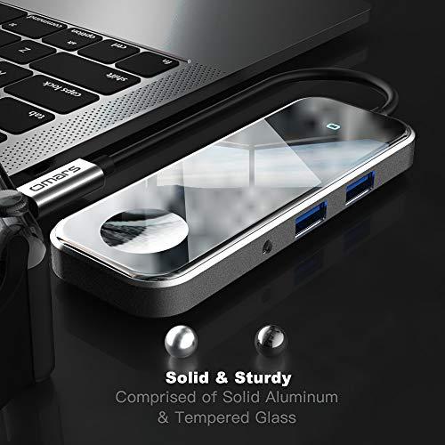 [Amazon] Omars Eclipse USB-C 6-in-1 Hub mit kabelloser Ladestation für Apple Watch für 10,99€