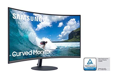 "Samsung C32T550FDU 32"" Curved Monitor 1.920 x 1.080 Pixel, 16:9 Format, 75 Hz, 4ms, 1000R, AMD FreeSync"