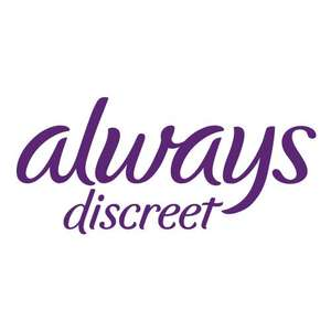Always Discreet Testwochen - Boutique Small, normall und long gratis testen
