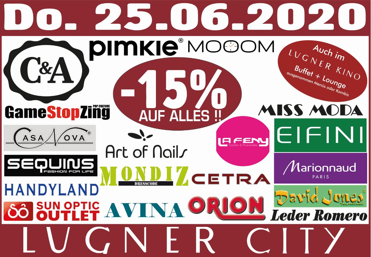 Lugner City -15%
