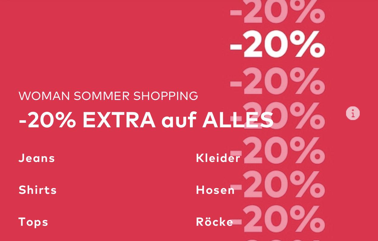 About You: 20% Rabatt auf vieles ab 75€ Warenwert