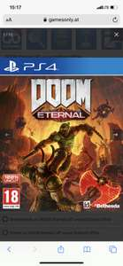 Games only hat tolle Deals z.b. Doom Eternal
