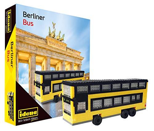 Idena 40131 - Minibausteine Berliner Doppeldeckerbus 507 Teile