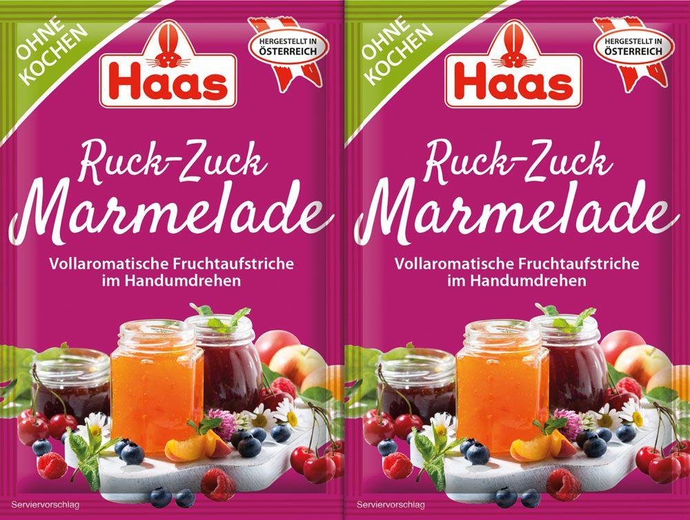 Bis zu 3x 99% Cashback auf Obst + Ruck Zuck Marmelade