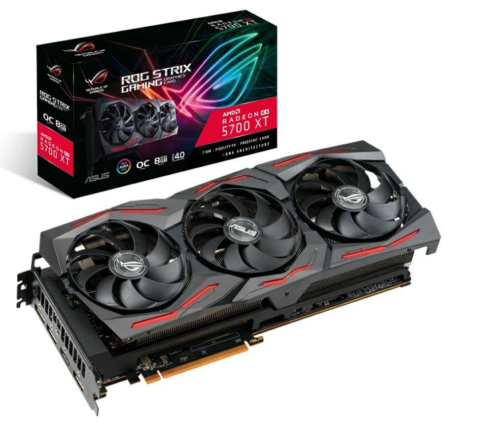 ASUS Radeon RX 5700 XT ROG STRIX OC - 8GB GDDR6 - Grafikkarte