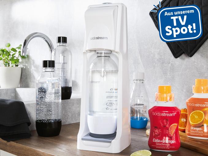 """[Lidl] Sodastream SET """"Cool White"""" mit 2 Flaschen um nur 39,99€"""