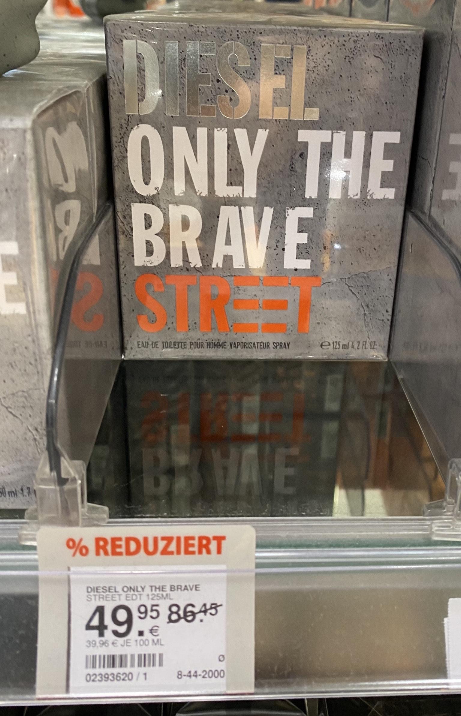 [Müller] Parfum Diesel only the brave Street 125ml für den Mann !!