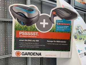 Gardena Sileno Smart City 500 mit Garage