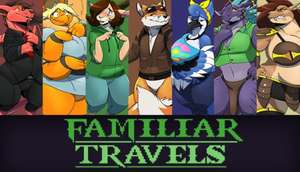 Familiar Travels - Volume One (Windows/Mac) Visual Novel für Erwachsene gratis auf itch.io Metacritic 8.8 User Rating