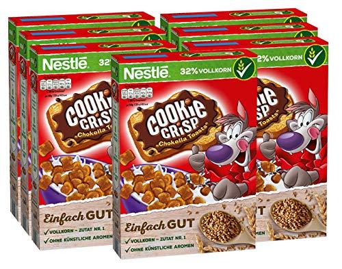 7x Nestlé Cerealien Cookie Crisp Chokella Toasts 350g