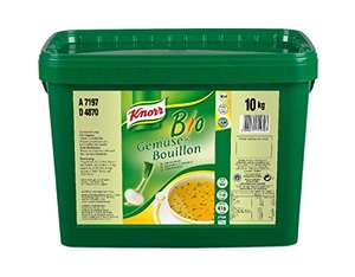 Für unsere Freunde der guten Küche, Knorr Bio Gemüse Bouillon 10 kg