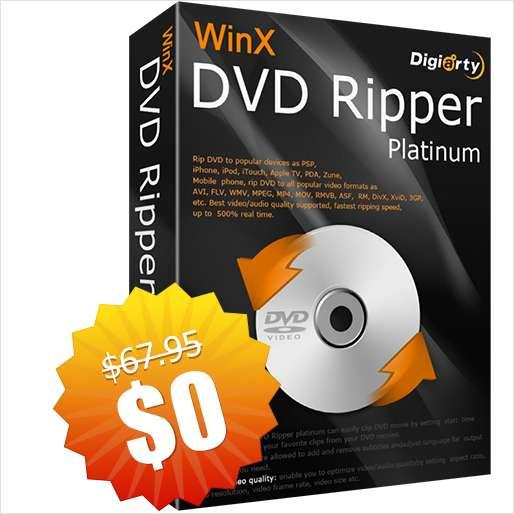 WinX DVD Ripper Platinum 8.20.2 kostenlos (Windows / Mac)