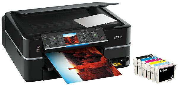WLAN Drucker Epson Stylus Photo PX710W für 129€ bei Amazon