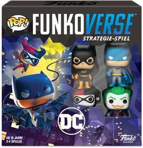 Funkoverse Strategie Brettspiele, Batman, Rick & Morty, Harry Potter