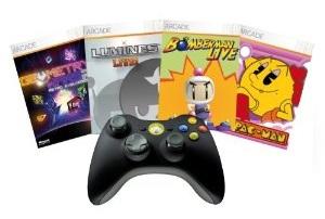 XBox 360 Wireless Controller mit Arcade Play für 24€ bei Amazon