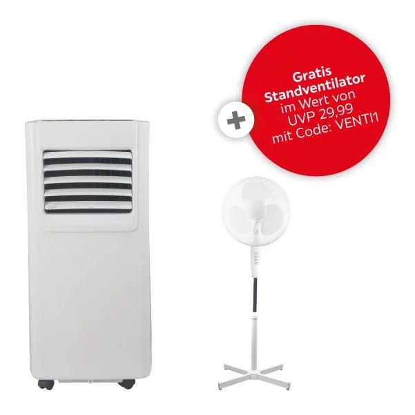 Klimagerät Pac -1955 + Ventilator