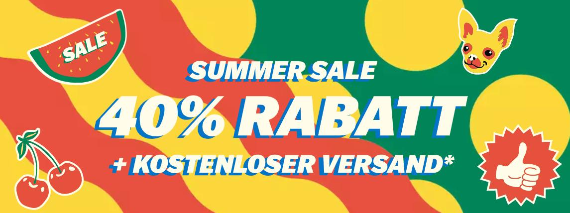 Happy Socks: Summersale, 40% Rabatt auf fast alles