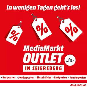 [Lokal] Info Deal: Media Markt Outlet in der Shopping City Seiersberg