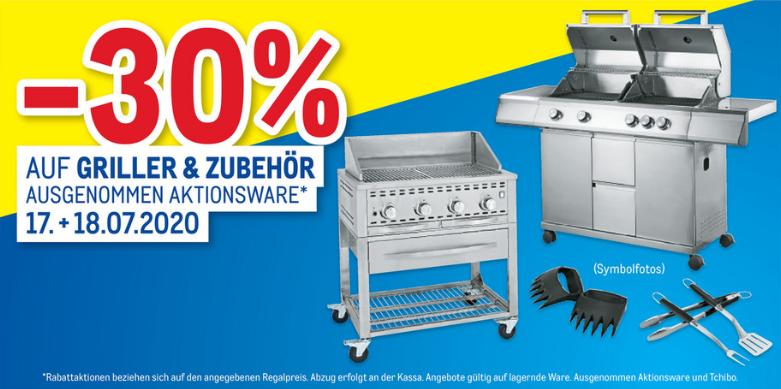 Metro.at: -30% auf Griller und Grillzubehör