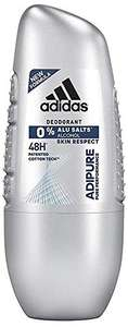 4x adidas adipure Deo Roll-on