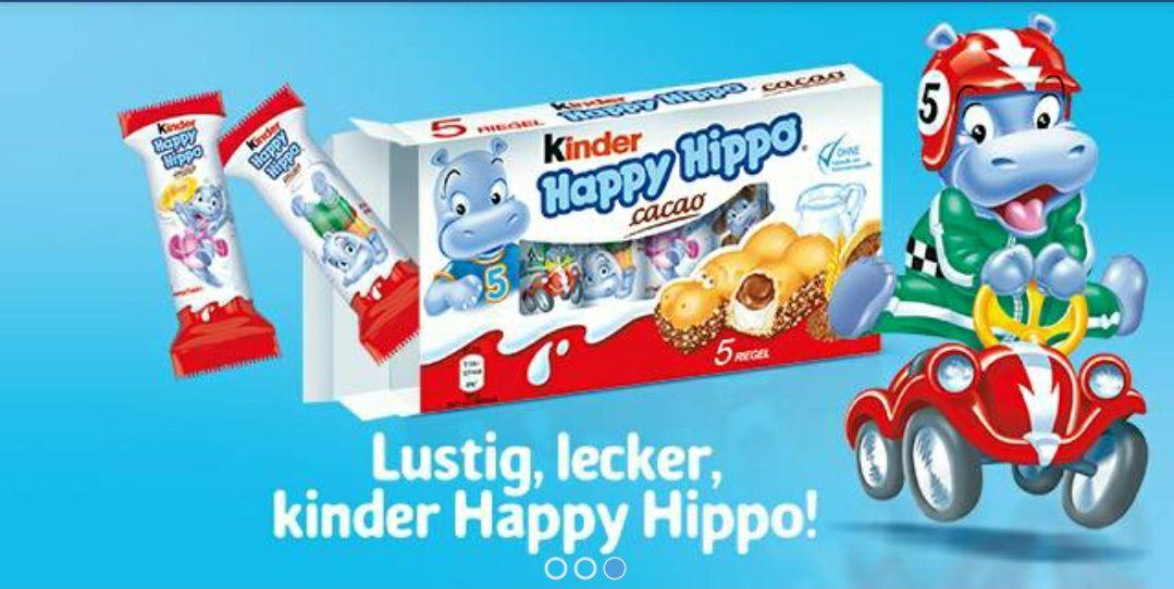 Coupies: 50% CB auf bis zu 10 Packungen Kinder Happy Hippos