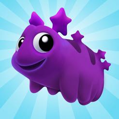 Water Bears (iOS) kostenlos im Apple App Store (iPhone, iPad und iPod touch) ohne Werbung und ohne InApp Käufe