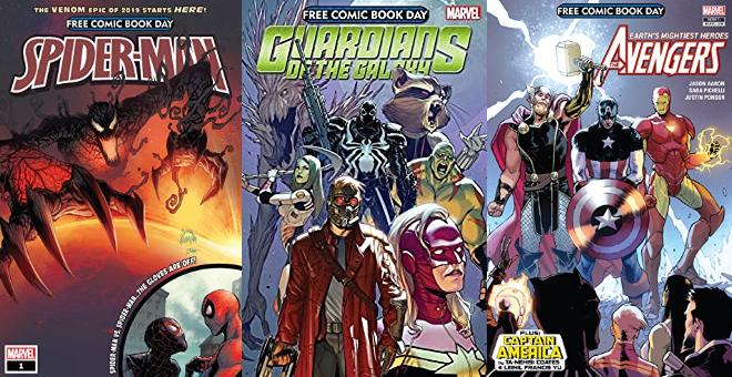 Amazon Free Comic Book Day, viele Comics gratis