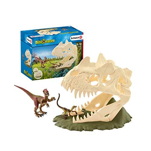Schleich Dinosaurs Große Schädelfalle mit Velociraptor Set
