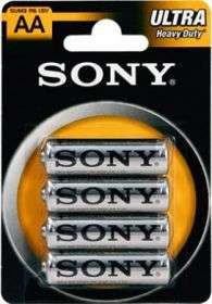 Sony Ultra Heavy Duty Mignon AA, 4er-Pack