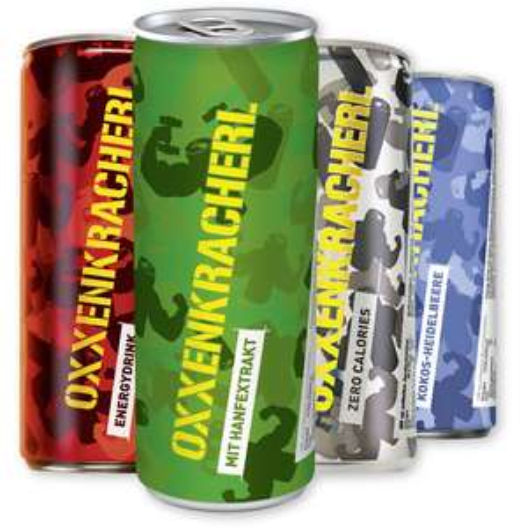 [PENNY] Oxxenkracherl Energy Drink ab 24 Dosen um nur 0,24€ am 10.07. & 11.07.