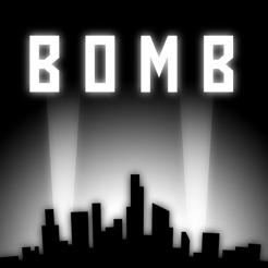 Bomb: A Modern Missile Command (iOS) kostenlos im Apple App Store (iPhone, iPad und IPod touch) ohne Werbung und ohne InApp Käufe