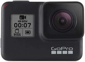 GoPro HERO7 Schwarz - Actionkamera mit 4K-HD-Videos,