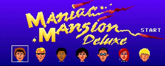 Maniac Mansion Deluxe (Windows) kostenloses Remake des Klassikers (DE/EN/ES/FR...)