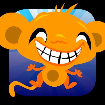 Monkey GO Happy (Android) gratis im Google PlayStore - ohne Werbung und ohne InApp Käufe-