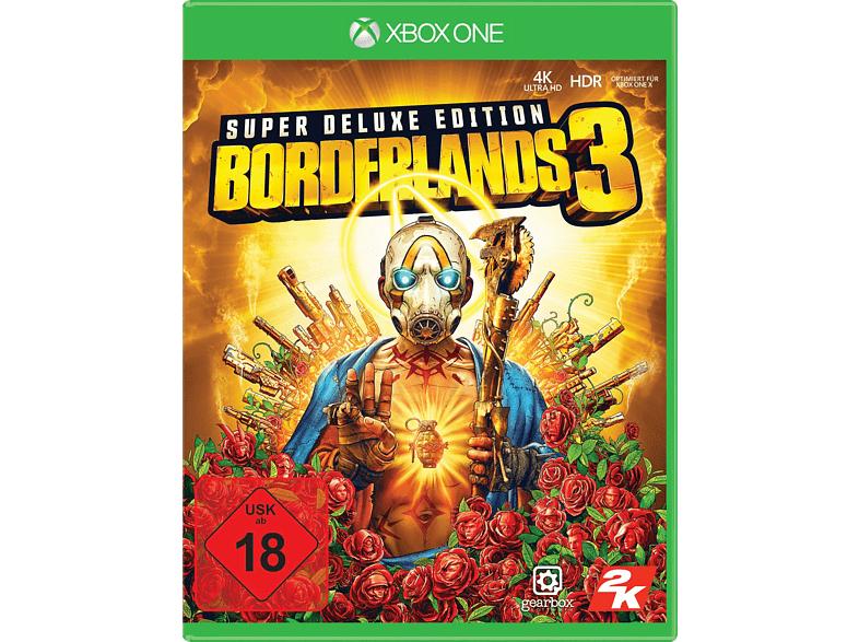 Borderlands 3 Super Deluxe Edition inkl. Steelbook Hülle (Xbox One) zum (Sir)Hammer(lock)Preis -Enthält den Season Pass-