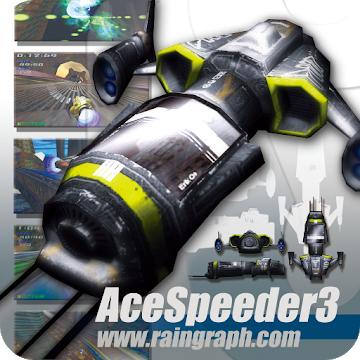 Ace Speeder 3 (Android) gratis im Google PlayStore -Keine Werbung / Keine InApp Käufe -