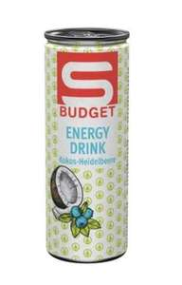SPAR S-BUDGET Energy Drink 12+ 12 GRATIS - ab 24 Dosen je 0,24