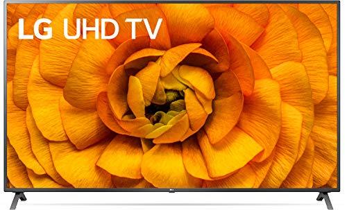 LG 82UN85006LA 207 cm (82 Zoll) UHD 4K TV mit Triple Tuner, 2 x HDMI 2.1 + 2 x 2.0, Dolby Atmos, Dolby Vision, HDR, HLG, 120 Hz) Modell 2020