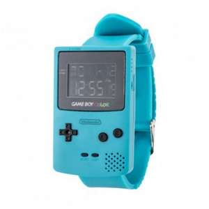 Armbanduhr - Gameboy Color, blau