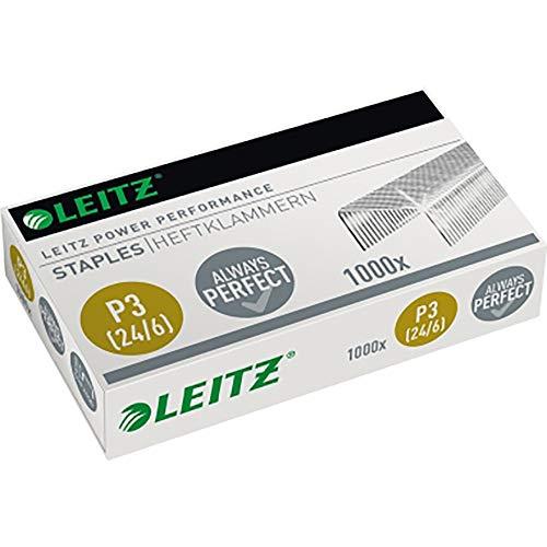 Leitz 55700000 Heftklammer (24/6 mm) 1000 Stück verzinkt