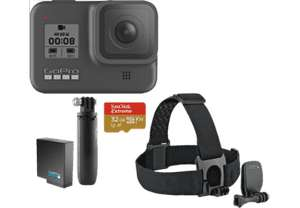 Media Markt Deutschland [LogoiX] GOPRO HERO8 Black Holiday Bundle Action Cam