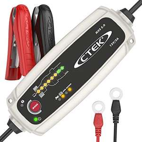 CTEK MXS 5.0 Batterieladegerät Mit Automatischer Temperaturkompensation